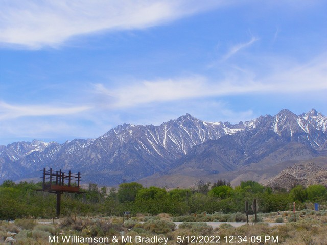 Mt Whitney web cam thumbnail picture